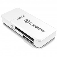 Transcend USB 3.0 microSD/SD White