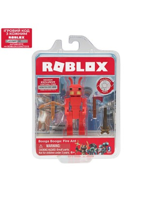Ігрова колекційна фігурка Jazwares Roblox Сore Figures Booga Booga: Fire Ant W5