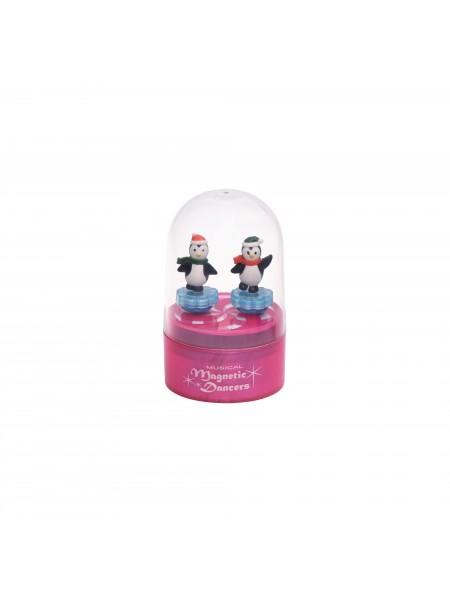 Музична коробка goki Пінгвіни (рожева) 13198G-4
