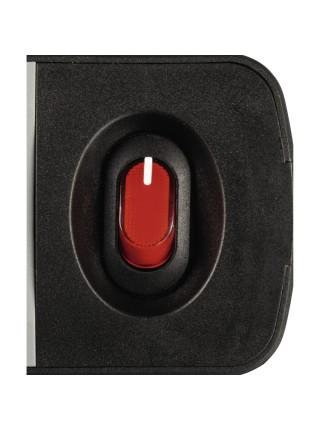 """Мережевий подовжувач НАМА """"TIDY-Line"""" 6XSchuko з вимикачем, 3G*1.5мм, 1.5м, чорний/сірий (00137376)"""