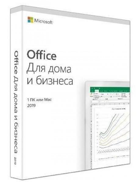 Програмне забезпечення Microsoft Office Home and Business 2019 Russian Medialess P6 (T5D-03363)