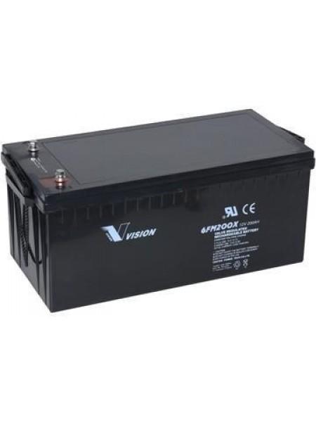 Акумуляторна батарея Vision FM 12V 200Ah 6FM200E