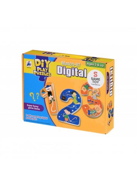 Пазл Same Toy Mad Xiang Щасливі цифри 2069Ut