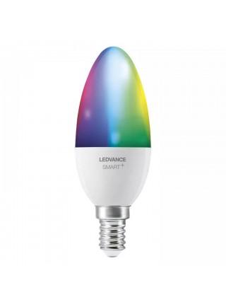Лампа світлодіодна LEDVANCE (OSRAM) LEDSMART+ WiFi B40 4,9W (470Lm) 2700-6500K + RGB E14 дімміруємая