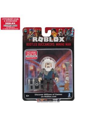 Ігрова колекційна фігурка Jazwares Roblox Core Figures (Bootleg Buccaneers: Mining Man) W6