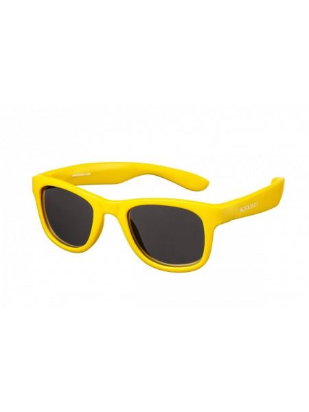 Дитячі сонцезахисні окуляри Koolsun KS-WAGR003 золотого кольору (Розмір: 3+)