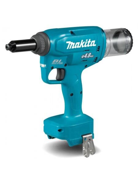 Заклепочник Makita LXT DRV150Z 18B, 10 kN-2.4 мм, 3.2 мм, 4.0 мм, 4.8 мм SOLO
