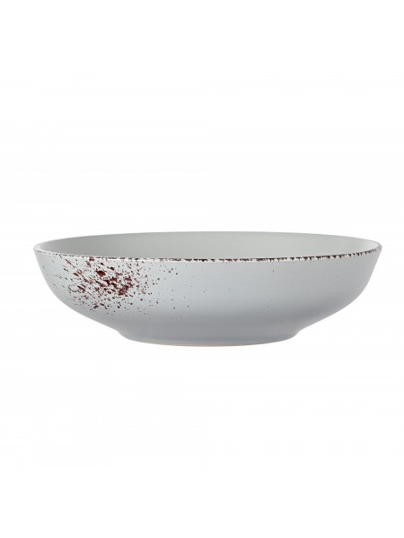Тарілка супова Ardesto Lucca, 20 см, Illusion blue, кераміка (AR2920BMC)
