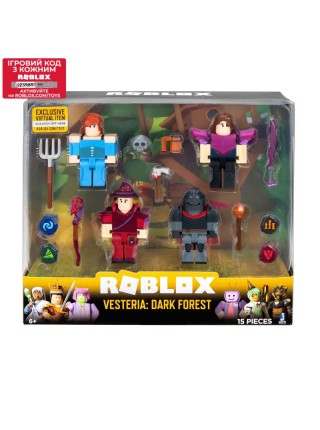 Набір Jazwares Roblox Four Figure Pack Vesteria: Dark Forest W5