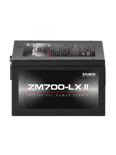 Блок живлення Zalman 700-LXII (700W),aPFC,120мм,24+(4+4),6xSATA,4xPCIe,+3