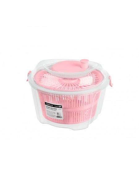 Сушарка для зелені Ardesto Fresh 4,4 л, рожевий, пластик (AR1603PP)