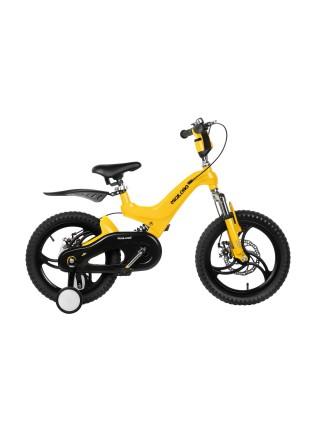 Дитячий велосипед Miqilong JZB Жовтий 16` MQL-JZB16-Yellow