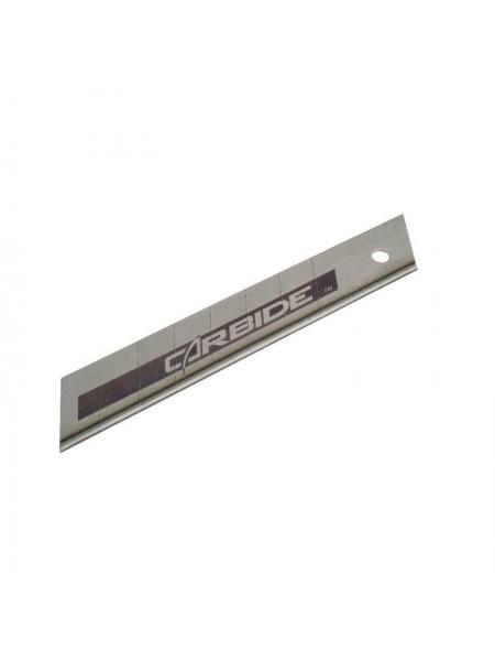 """Лезо Stanley """"Carbide"""", для ножа, 18мм, сегментами, що відламуються, 5шт."""