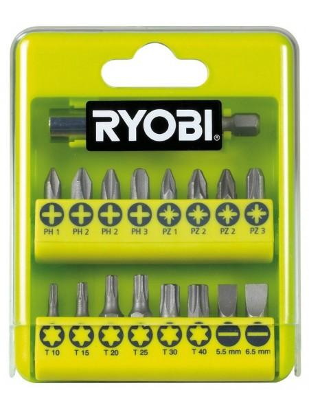 Набір біт Ryobi RAK17SD, 17 од., 16х25мм, тримач 60мм