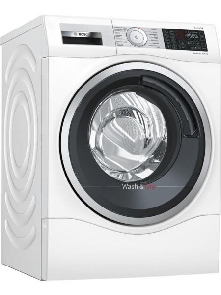 Прально-сушильна машина BOSCH WDU28590OE, 10кг (6кг), 1400, A, 65см, Дисплей, Білий