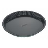 Форма для випікання Ardesto Tasty baking 30*3 см кругла, сірий,голубий, вуглецева сталь (AR2303T)