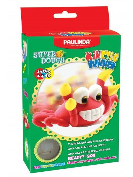 Маса для ліплення Paulinda Super Dough Running Race Краб заводний механізм PL-081183-2