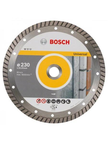 Диск алмазний Bosch Standard for Universal Turbo 230-22.23 (2.608.602.397)