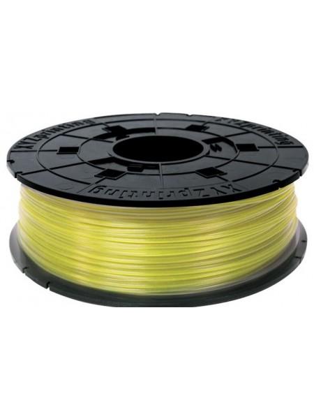 Котушка з ниткою 1.75мм/0.6кг PLA(NFC) XYZprinting Filament для Junior, miniMaker, Nano жовтий (RFPL