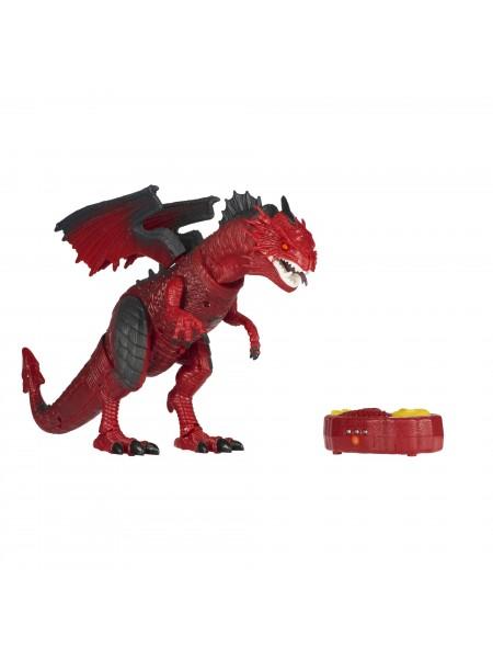 Динозавр Same Toy Dinosaur Planet Дракон (світло, звук) червоний RS6139Ut