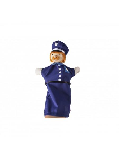 Лялька-рукавичка goki Поліцейський 51646G