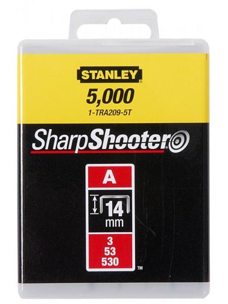 """Скоби Stanley """"Light Duty"""", тип А, 14х11.3мм, 1000шт"""
