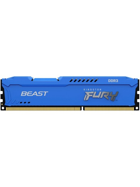Пам'ять до ПК Kingston DDR3 1866 4GB 1.5V FURYBeastBlue