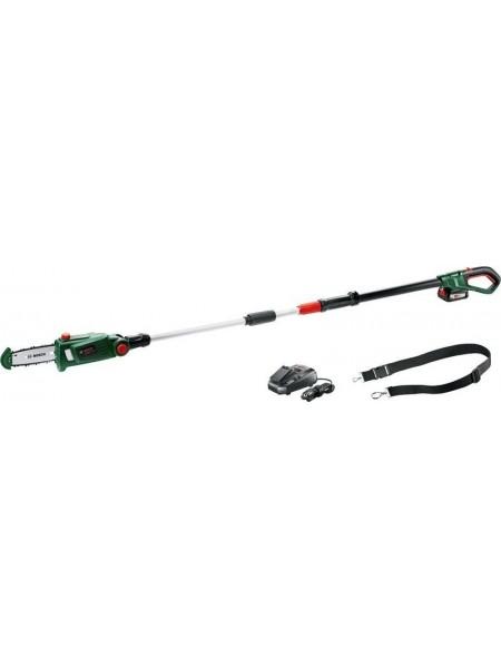 Висоторіз Bosch UniversalChainPole 18, акум., 1х18В 2.5Ah, шина 20см, ланцюг Oregon, 210-260см, 3.6к