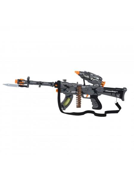 Іграшкова зброя Same Toy Сyber Mission Кулемет сірий DF-11218BUt