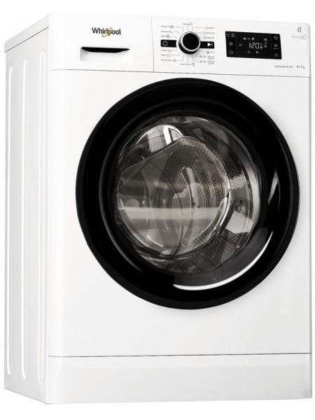 Прально-сушильна машина Whirlpool FWDG97168BEU, 9кг (7кг), 1600, A+, Пара, 60см, Дисплей, Білий