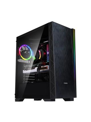 Корпус Zalman Z3 NEO,MidT, E-ATX, 2xUSB2.0,1xUSB3.0, 1x120мм, 1х120ARGB,скло(бічна панель),безБЖ,чор
