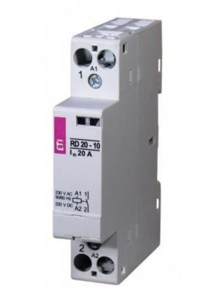 Контактор імпульсний ETI RBS 220-20 230V AC 20A (2НВ, AC1)