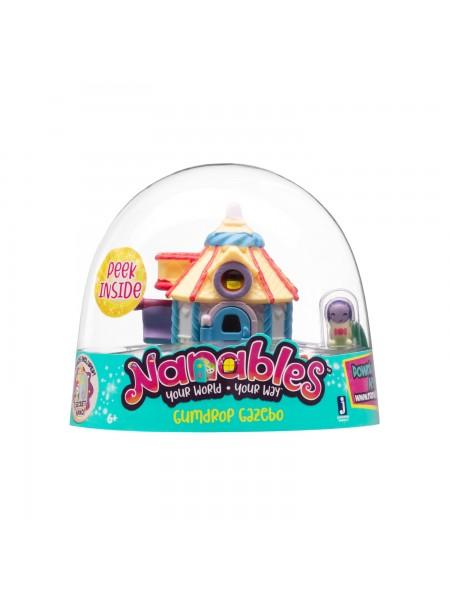 Ігрова фігурка Jazwares Nanables Small House Містечко солодощів, Цукерковий будиночок
