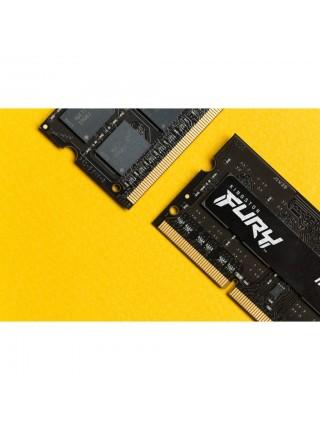 Пам'ять до ноутбука Kingston DDR3 1866 8GB SO-DIMM 1.35/1.5V Kingston FURY Impact