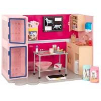 Ігровий набір Our Generation Ветеринарна клініка, рожевий BD35140Z