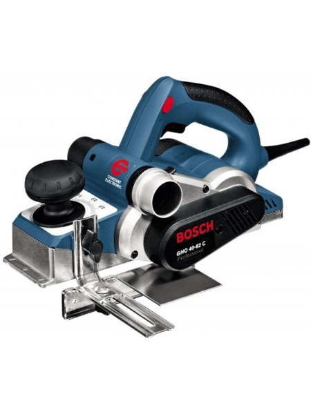 Рубанок Bosch Professiona GHO 40-82 C, 850 Вт, ніж 82мм, стругання 4 мм, 3.2 кг (0.601.59A.760)