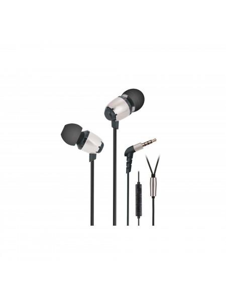 Навушники 2E S6 Pinion Mic Сільвер
