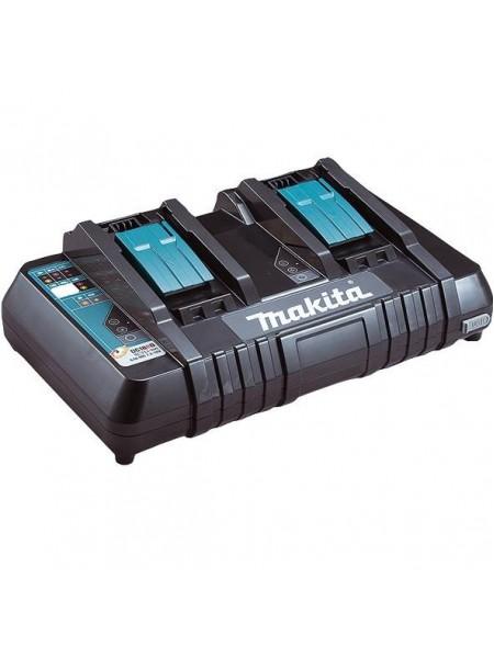 Зарядний пристрій Makita DC18RD на 2 батареї, LXT, 14,4-18, швидкий заряд (630868-6)