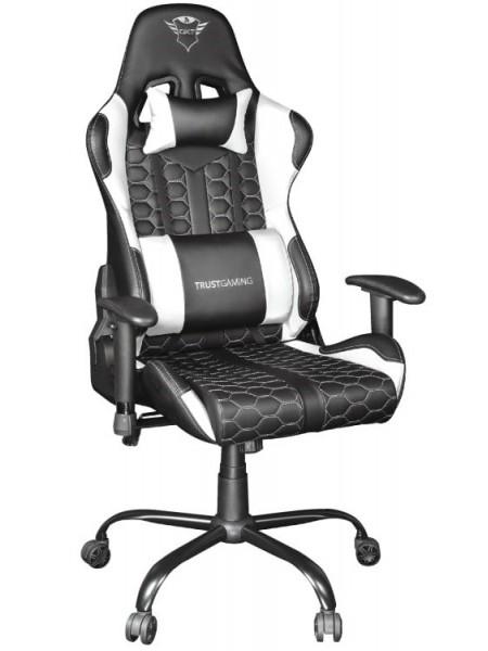 Крісло ігрове Trust GXT 708W Resto White