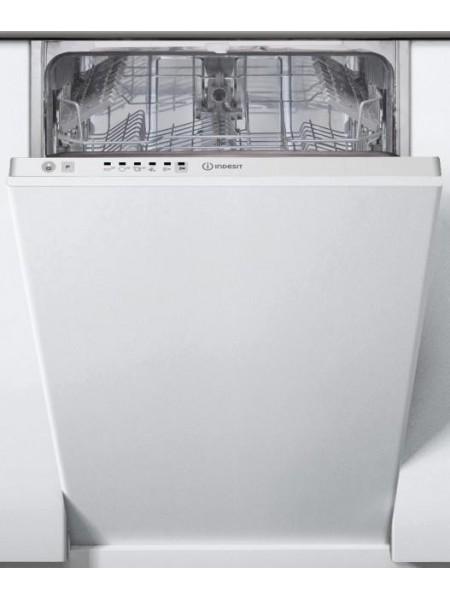 Вбудовувана посудомийна машина Indesit DSIE 2B10 A+/ 45см./10 компл./Led-індикація/Бiлий