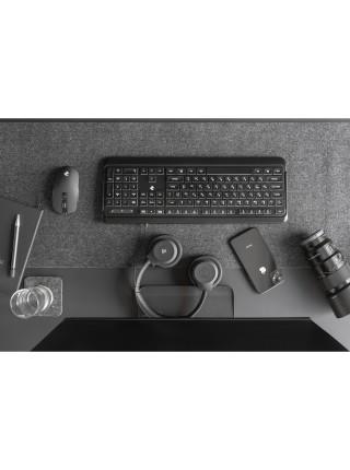 Клавіатура 2E KS120 White backlight USB Black