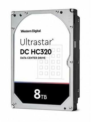 "Жорсткий диск WD 3.5"" SATA 3.0 8TB 7200 256MB Ultrastar DC HC320 (HUS728T8TALE6L1) (0B36410)"