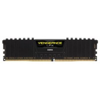 Модуль пам'яті Vengeance LPX Black 8GB DDR4 2400M Corsair CMK8GX4M1A2400C16