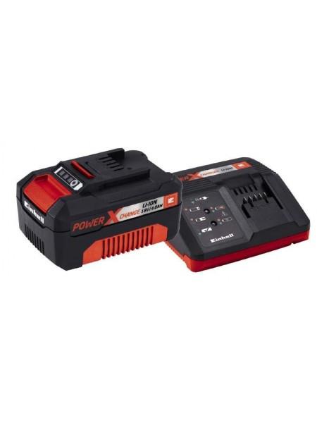 Набір акумулятор + зарядний пристрій Einhell Starter Kit 18V 1х4.0Ah, PXC (4512042)