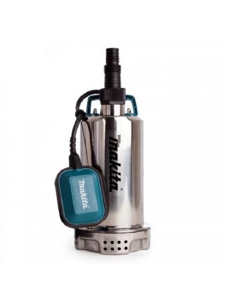 Насос дренажний Makita PF 1100, занурювальний, 1100 Вт, 250 л/хв, 5.9 кг (PF1100)