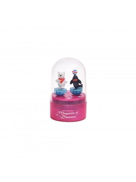 Музична коробка goki Тюлень і білий ведмедик (рожева) 13198G-5