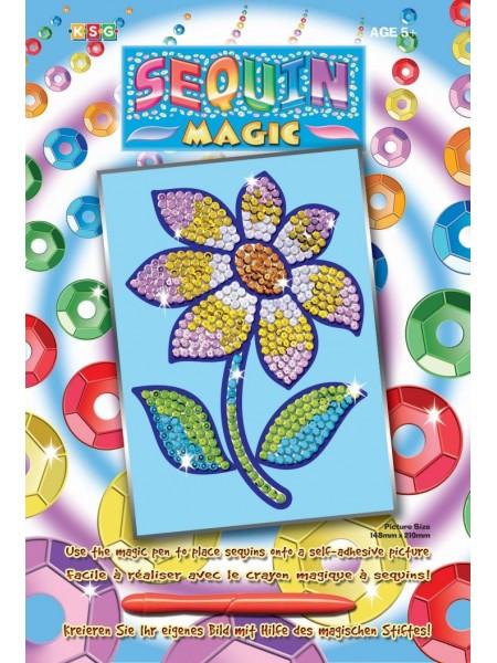 Набір для творчості Sequin Art SEQUIN MAGIC Квітка SA0719