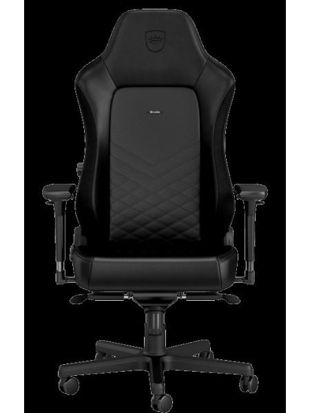 Крісло геймерське Noblechairs HERO Real Leather Black (NBL-HRO-RL-BLA)