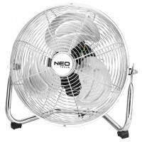 Вентилятор підлоговий NEO, професійний, 50Вт, діам. 30 см, 3 швидкості, двигун Мідь 100%