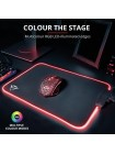 Trust GXT 765 Glide-Flex RGB Mouse Pad with USB Hub Black